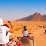 quad excursion in sahara desert in egypt