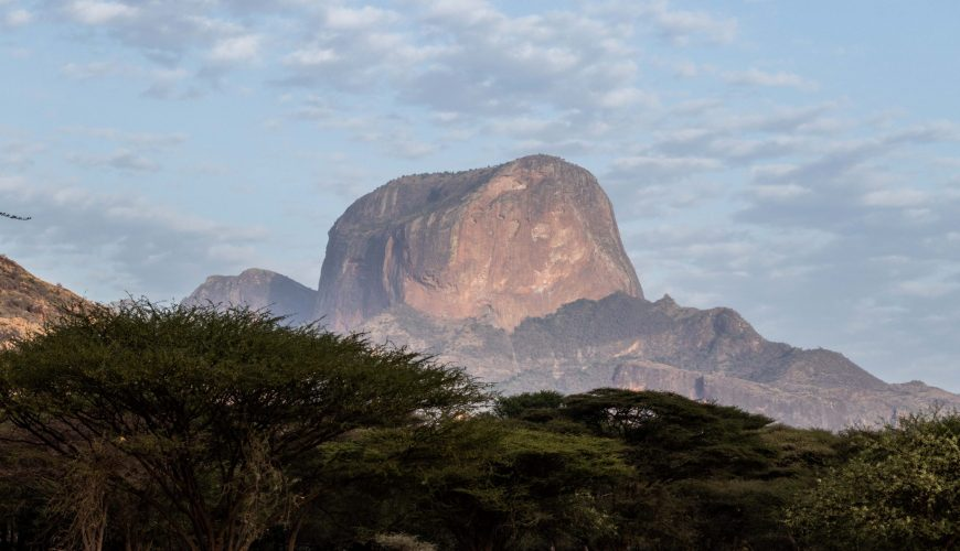 Northern Kenya The iconic Mt Poi
