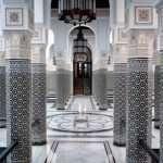 Mamounia Palace Hotel interior in Marrakech, Morocco