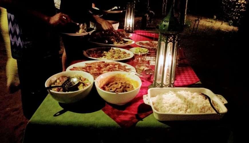 Maskani youth initiative dinner in maskani community center