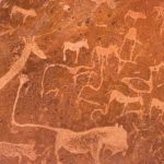namibia ancient rock paintings