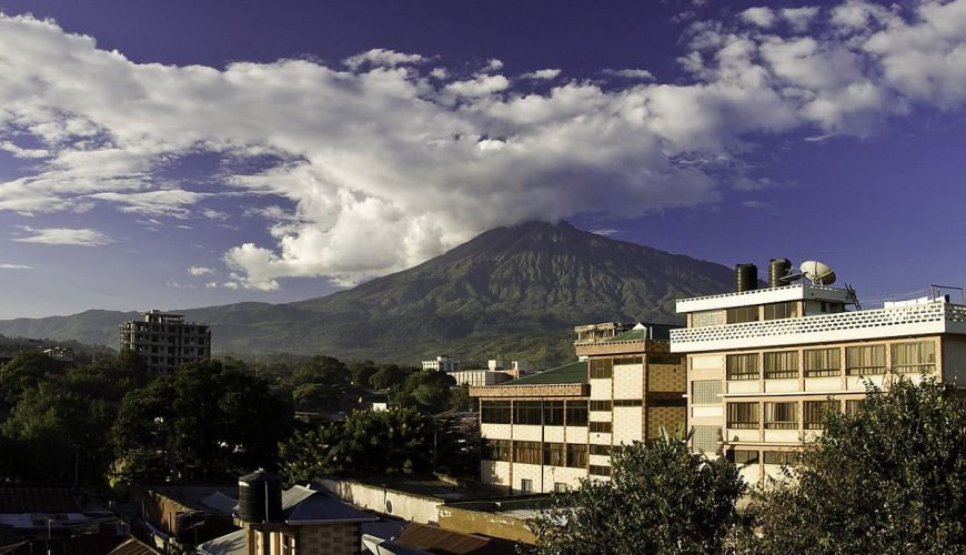 arusha downtown