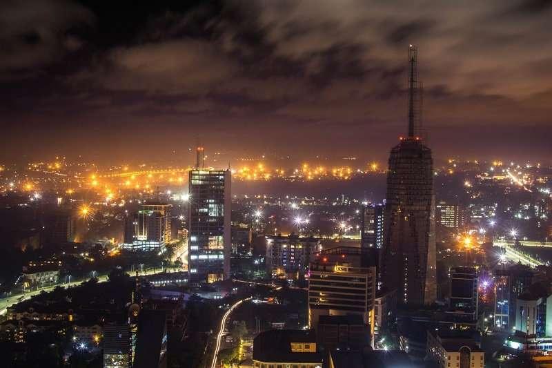 nairobi at night