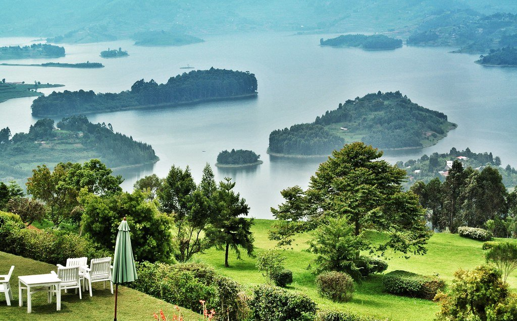 "Transfer to Lake Bunyonyi famously known as ""The little Switzerland of Africa"""