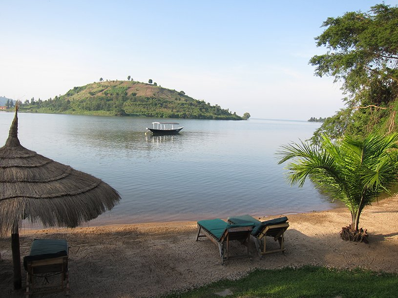 Transfer to Lake Kivu and relaxed afternoon