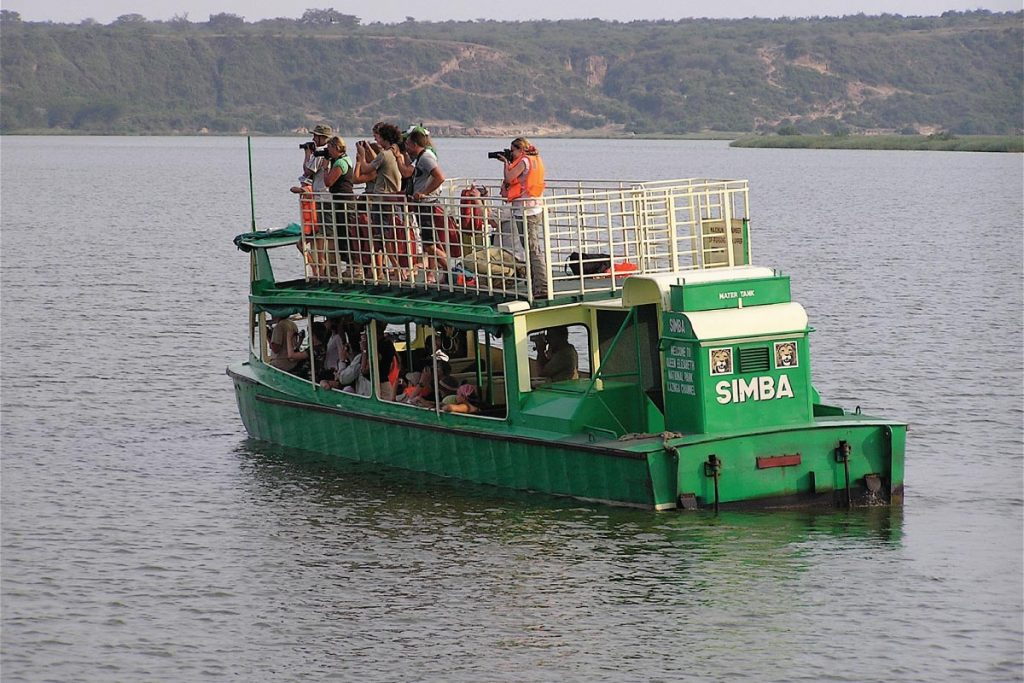 Evening Boat Cruise at Queen Elizabeth National Park