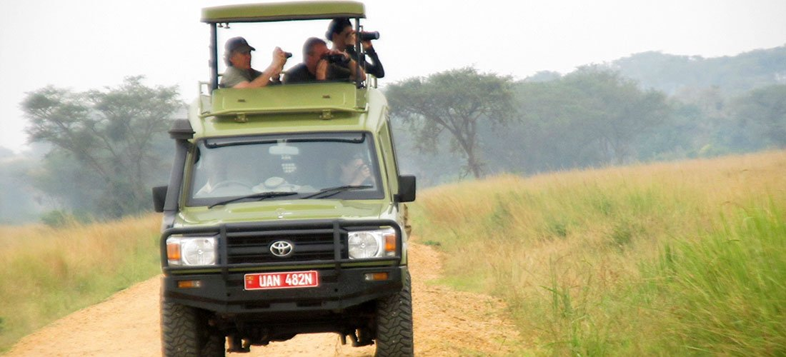 City tour and transfer to Akagera national park