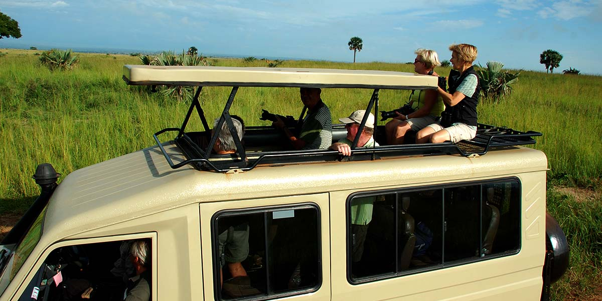 Game drive and Boat cruiser