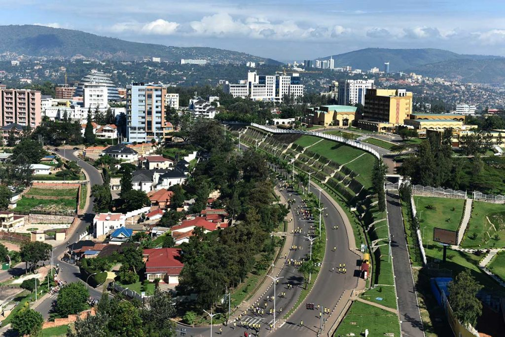 Kigali city tour (depending on flight time) and flight day