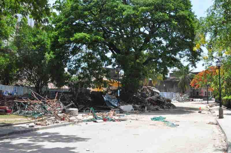 House of wonder collapsed - zanzibar - december 2020 (1)