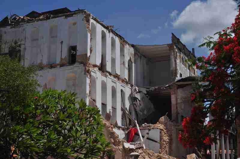 House of wonder collapsed - zanzibar - december 2020 (3)