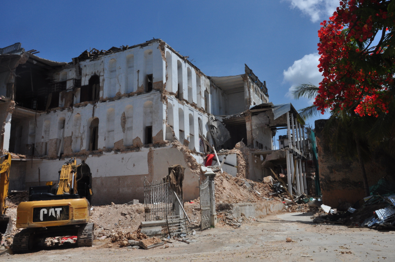 House of wonder collapsed - zanzibar - december 2020 (4)