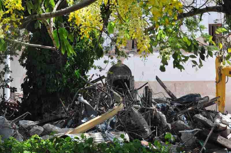 House of wonder collapsed - zanzibar - december 2020 (7)