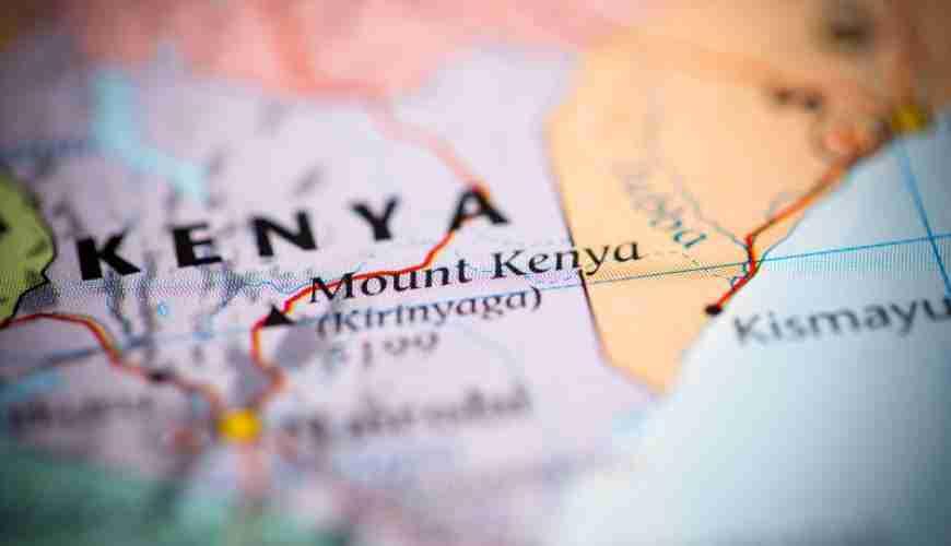 Mount Kenya. Kenya
