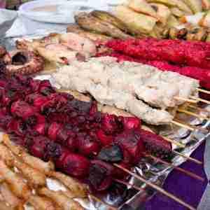 food market in zanzibar stone town forodhani garden